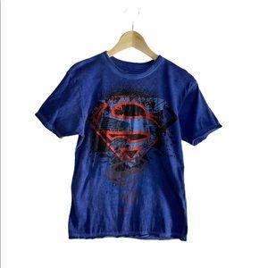 Dx-Xtreme boys superman blue t-shirt